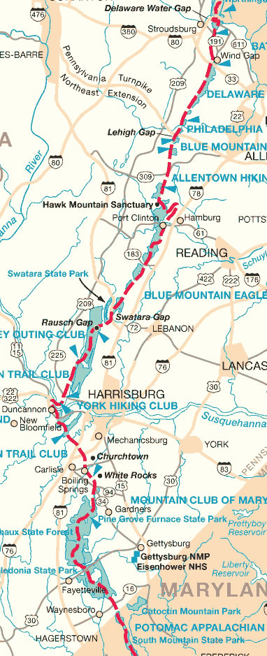 The Pennsylvania Center for the Book - Appalachian Trail