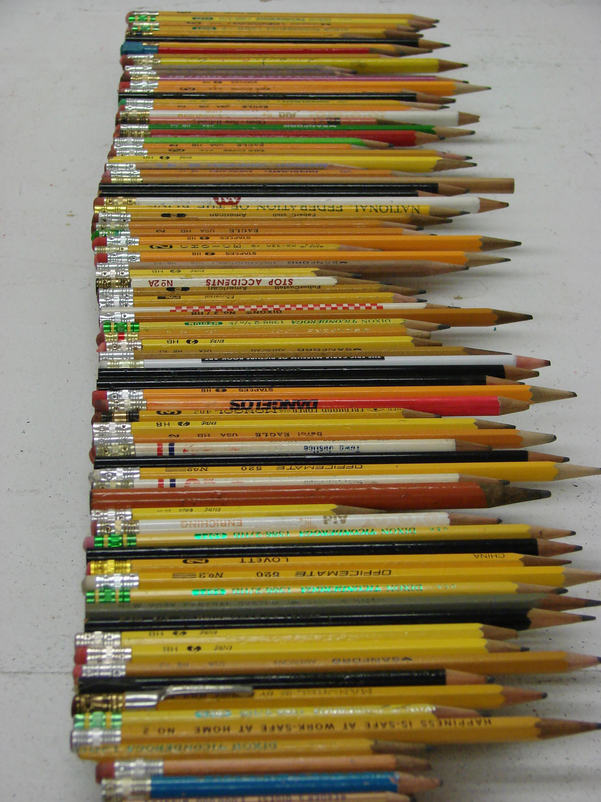 The Pennsylvania Center for the Book - Pencils with Erasers