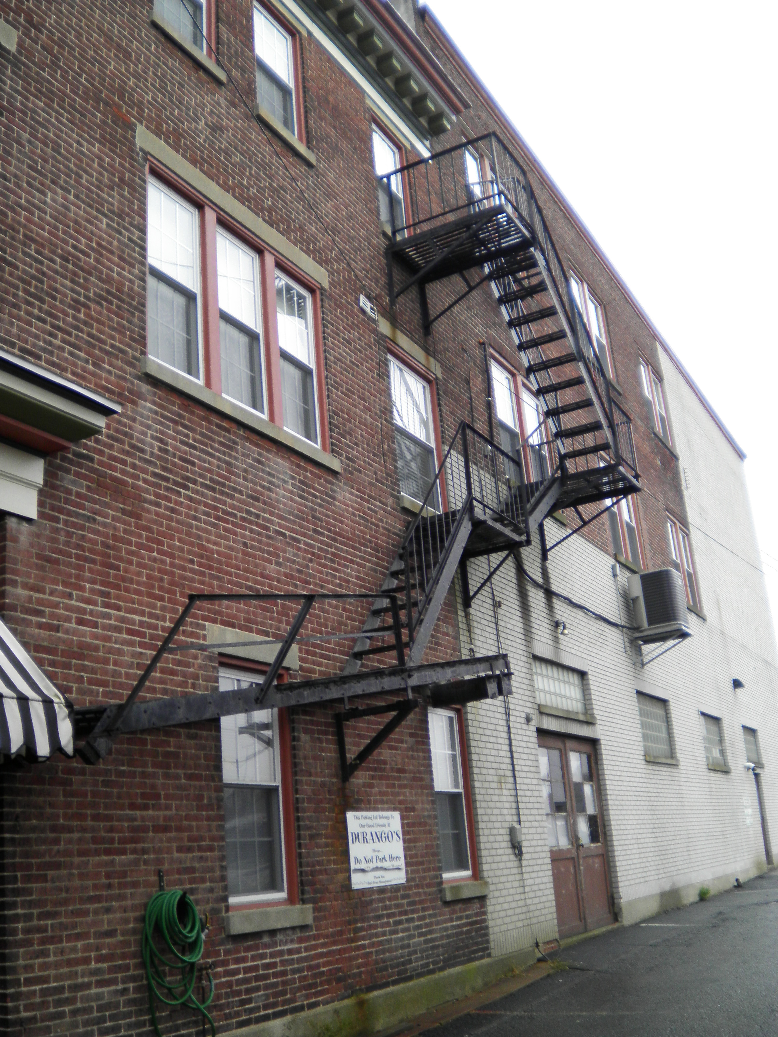 Apartment Building Fire Escape Ladder the pennsylvania center for the book - rhoads opera house fire